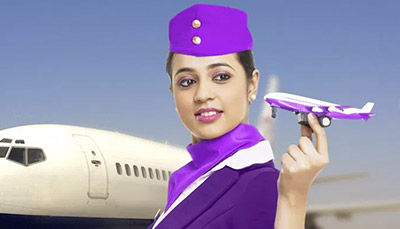 Career as Air Hostess