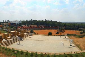 AIMS Bangalore  - Ground