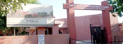 Institute of Management Studies B.J.S Rampuria Jain College