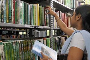DIBNS DEHRADUN - Library
