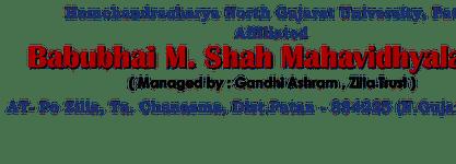 Babubhai M. Shah Mahavidyalaya
