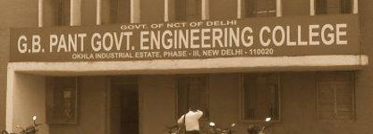 G.B. Pant Govt. Engineering College