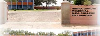 Indira Gandhi Memorial B.Ed. College