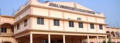 Jayaraj Annapackiam CSI College of Engineering