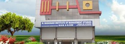 M. Basavaiah Institute of Management Studies