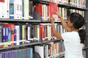 IIM, Rohtak - Library