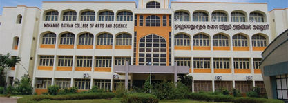 MOHAMED SATHAK COLLEGE OF ARTS AND SCIENCE - MBA