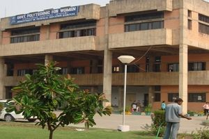 Govt Polytechnic For Women Gpw Faridabad Faridabad 2020 Admissions Courses Fees Ranking