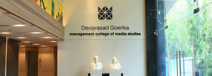 Deviprasad Goenka Management Institute of Media Studies