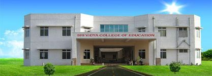 Sri Vidya College of Education