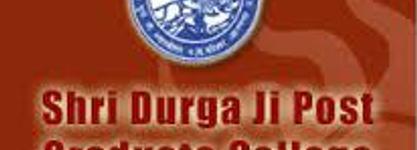 Shri Durga Ji PG College