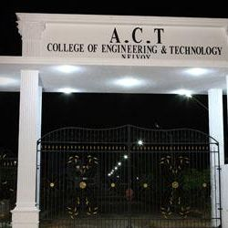 ACT College Of Engineering & Technology