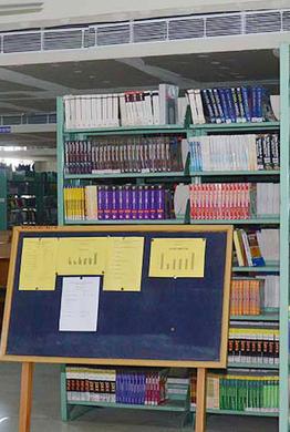 MMU, Sadopur - Library