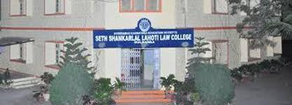 Seth Shankarlal Lahoti Law College