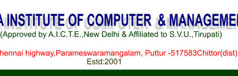 SRI SESHACHALA INSTITUTE OF COMPUTER STUDIES