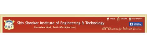 Shiv Shankar Institute of Engineering and Technology