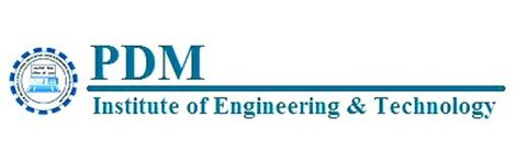 P.D.M. Institute of Engineering & Technology