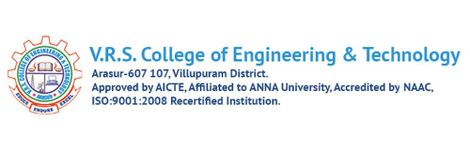 VRS College of Engineering and Technology