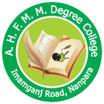 A. H. F. M. M. Degree College