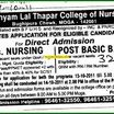 Dr Shyam Lal Thapar College of Nursing