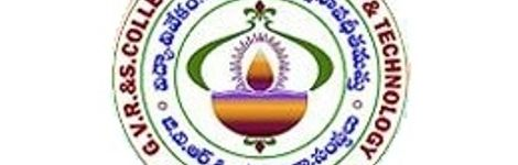 G.V.R & S COLLEGE OF ENGINEERING & TECHNOLOGY