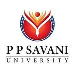 P P Savani University,Surat