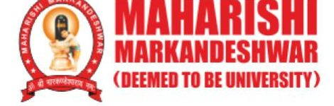 Maharishi Markandeshwar (Deemed to be University)