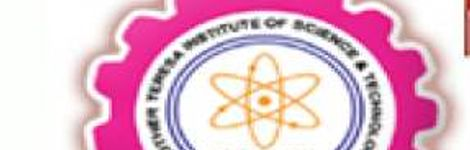 MOTHER TERESA INSTITUTE OF SCIENCE AND TECHNOLOGY