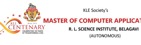 KLE COLLEGE OF M C A, RLS INSTITUTE BELGAUM