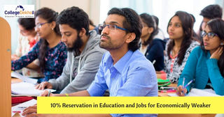 10% Reservation for Economically Weaker Sections in Government Universities and Colleges