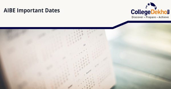 AIBE (XV) Important Dates