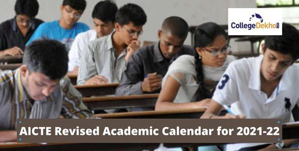 AICTE revised academic calendar 2021-22 released