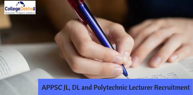 APPSC Junior, Degree & Polytechnic Lecturers Notification 2019: Dates, Application Form, Eligibility, Vacancy Details