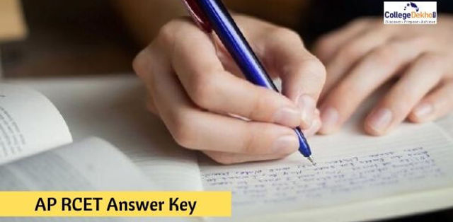 AP RCET/ APRCET 2019 Answer Key (Nov 13) - Subject Wise, Arts, Commerce, Management and Law