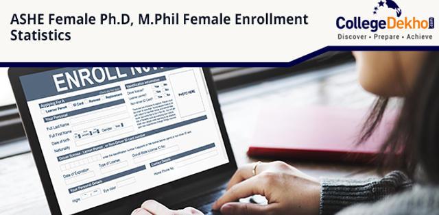 ASHE 2019: Female Enrollment Highest in M.Phil, Lowest in Ph.D