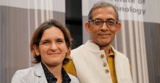 Nobel Prize Winner Abhijit Banerjee Supports Two Students with their Education