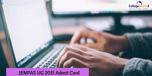 JENPAS UG 2021 Admit Card