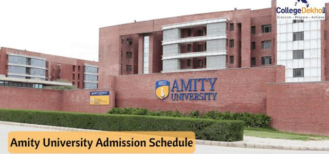 Amity University Extends Application Process Until June 15 2020 Collegedekho