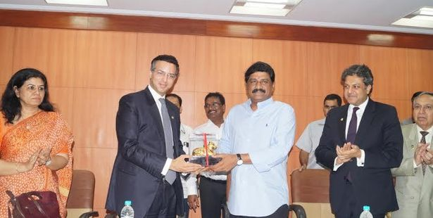 Andhra Government's Delegates Visit Amity