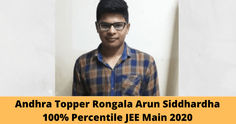 Andhra JEE Main 2020 Topper Says Time Management & Mental Balance is Key to Success