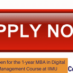 Applications Open for the 1-year MBA in Digital Enterprise Management Course at IIMU