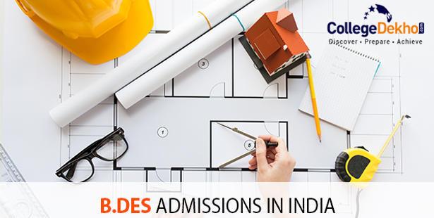 B.Des Admissions in India