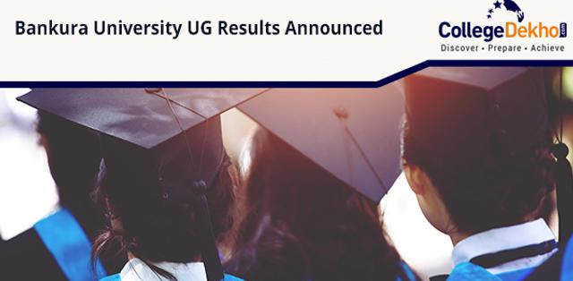 Bankura University UG Results Declared