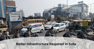 Students Demand Better Infrastructure Near Kota Coaching Centres