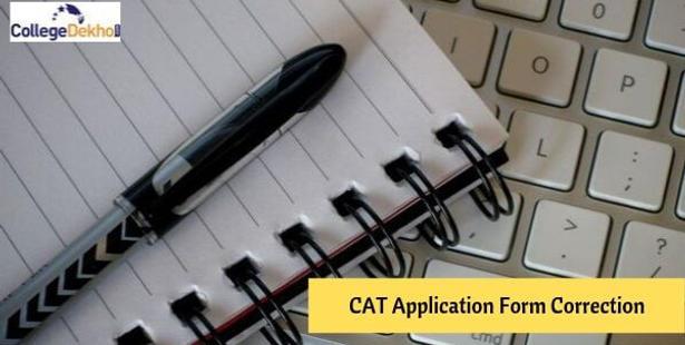 CAT Application Form Correction