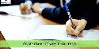 CBSE Board 12th Exam Date Sheet 2019, Time Table, Schedule