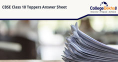 CBSE Class 10 Toppers' Answer Sheets (PDF Download), Model Answer Key
