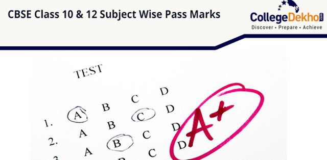 CBSE Class 10 & 12 Pass Marks (Subject Wise) - Theory, Practical, Maximum Marks, Minimum Marks