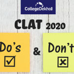 CLAT Dos and Don'ts