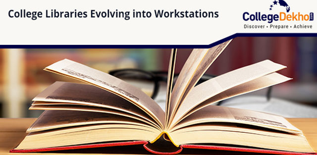 College Libraries in India are Evolving into Workstations, Phone Zones and Networking Hubs